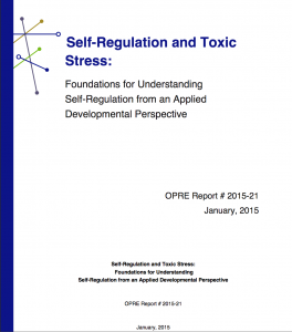 Self Regulation And Toxic Stress Report >> Self Regulation And Toxic Stress A Comprehensive Review Youth Nex